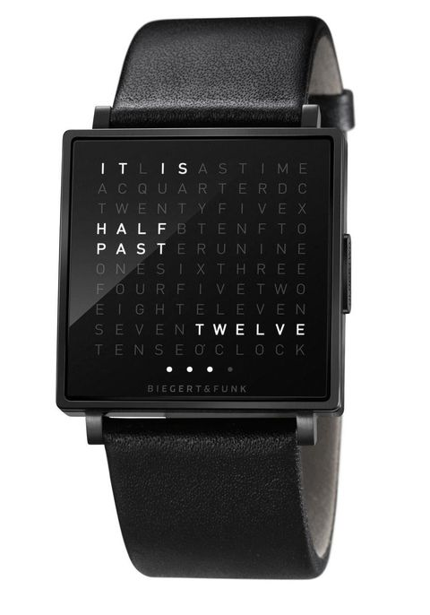 Qlocktwo W Time In Words -Black watch is now available on Watches.com. Free Worldwide Shipping & Easy Returns. Learn more.