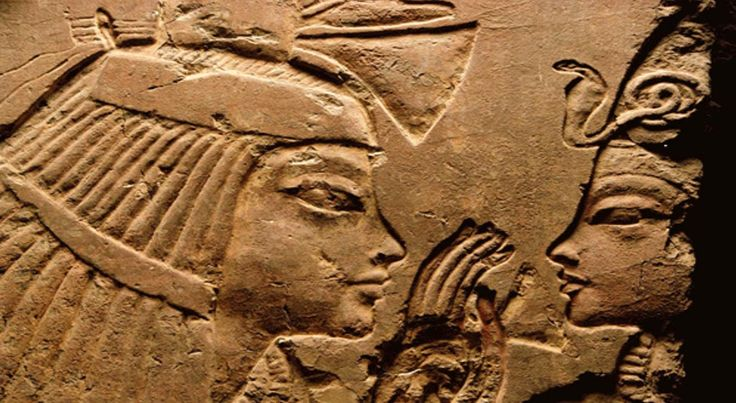 Images at the entrance of the tomb of the wet nurse, called Maya, shows the pharaoh Tutankhamen seated on her lap. It's now believed that Maya may have been Tutankhamen's sister, Meritaten.