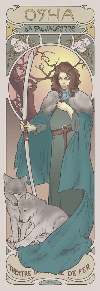 Game-Of-Thrones-Art-Nouveau-Osha