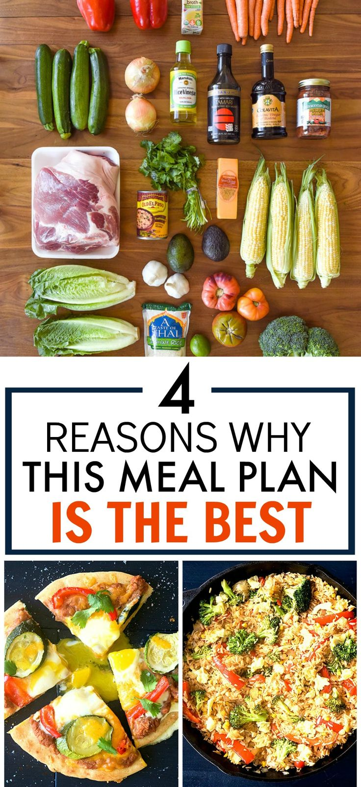These 4 Reasons Why This Meal Plan is the Best is AWESOME! I'm so glad I found this! I've finally found a meal plan that's HEALTHY AND BUDGET FRIENDLY! Now I'll be spending less and eating better! Such a great money saving meal plan! Pinning for later!