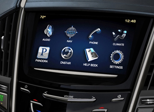 Cadillac ATS Delivers American Automotive Innovation - is this too much distraction in the car?