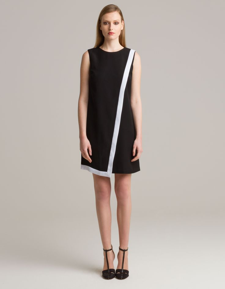 Two-tone dress by TheShopGirl for Maison Academia http://shop.maisonacademia.com/collections/spring-summer-2013/products/539