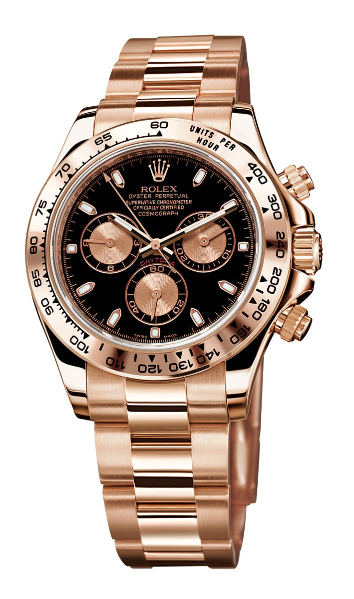 ROLEX Daytona Rose-Gold... why do i have such expensive taste? =(   Raddest Men's Fashion Looks On The Internet: http://www.raddestlooks.org