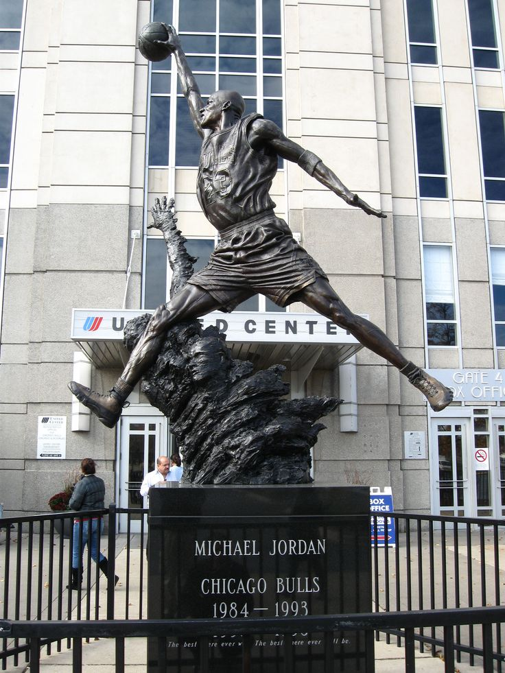 Michael Jordan statue - United Center