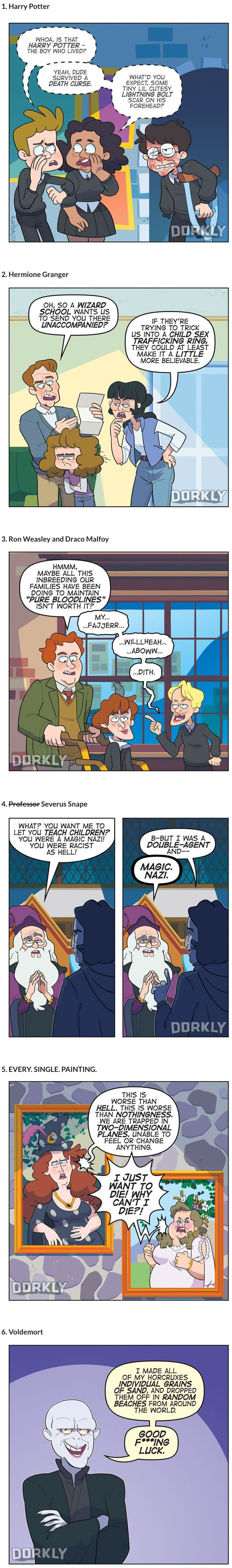 If Harry Potter Characters Were More Realistic.....should I laugh or cry?