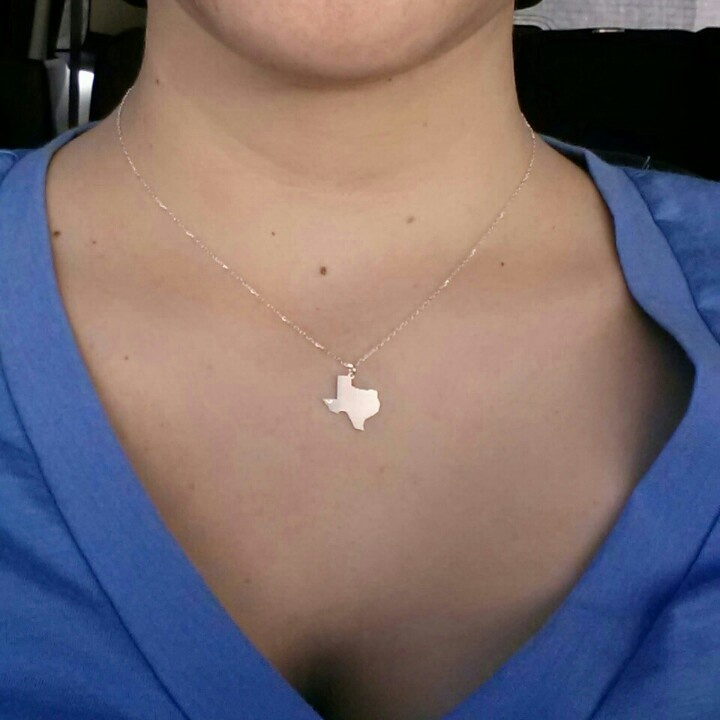 """Perfect present :) """"She's like Texas"""" is engraved on the back ♥"""