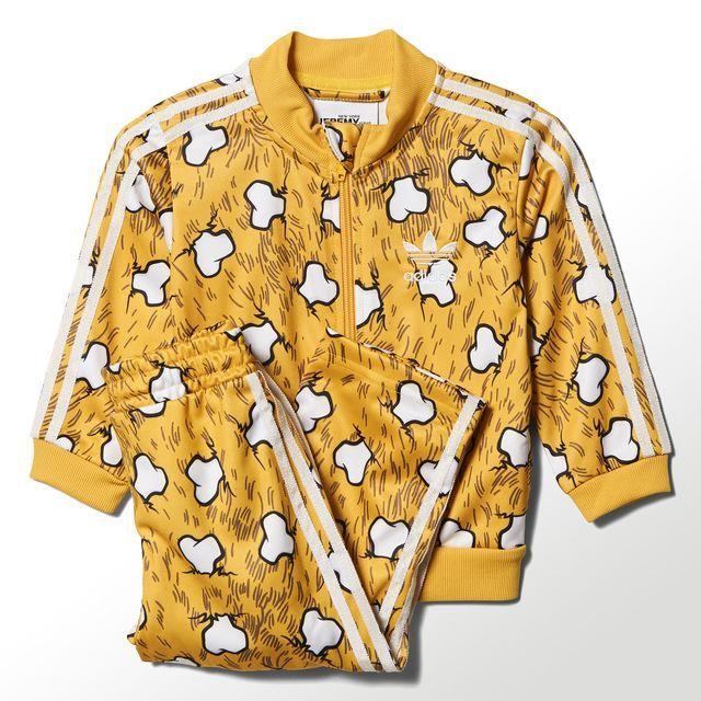 adidas Bones Track Suit - Yellow | adidas US