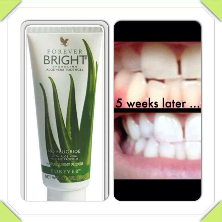 Yip even Aloe toothgel without nasty flouride http://www.440500013903.myforever.biz/store