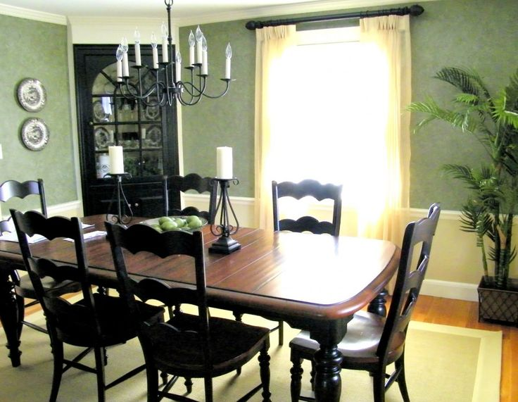 25 Best Ideas About Green Dining Room Furniture On