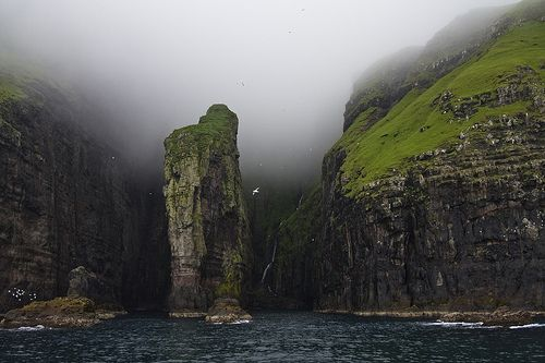 Vestmanna Cliffs, Faroe Islands: Jurassic Parks, Iceland, Vestmanna Cliff, Beautiful, Sea, West Coast, Travel, Denmark, Faro Islands
