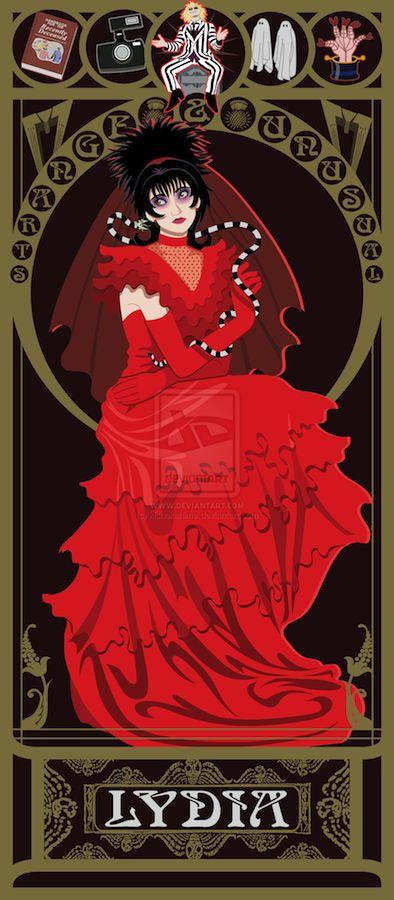 Lydia art nouveau