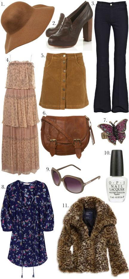 70s - I want to style Chloe with 70s fashion for a photo shoot!                                                                                                                                                                                 More