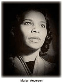 Marian Anderson, date and photographer unknown