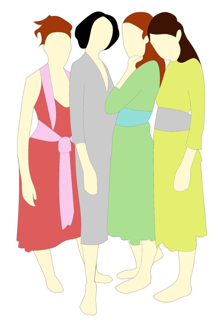 4 Sisters Clipart images