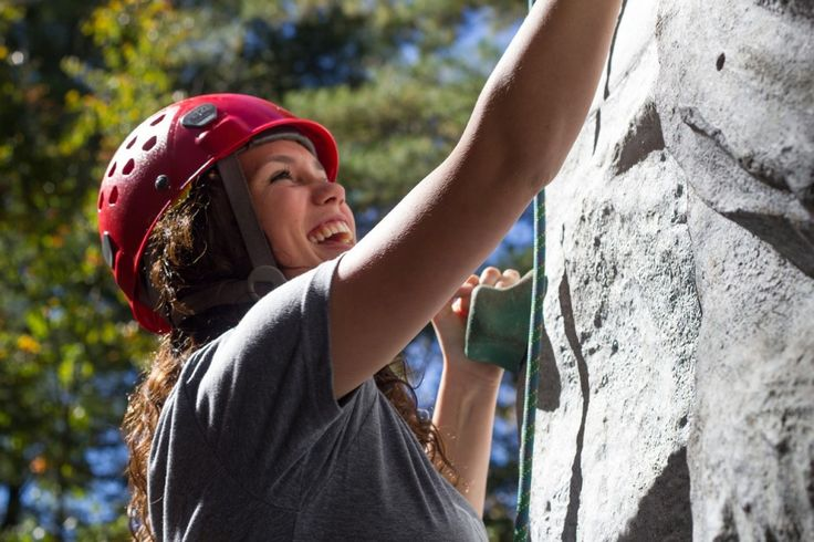 Rock Climbing.  12 Ways To Exercise Without Even Realising You're Burning Calories - Toat