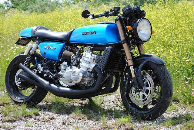 "Racing Cafè: Suzuki GT 750 ""Bad Buffalo"" by Sean Eviston"