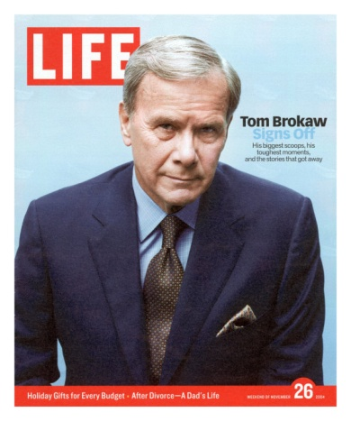 """Tom Brokaw (1940-??) Television Journalist/Anchor/Author/NBC Special Correspondant. Hosted """"The Today Show"""", """"NBC Nightly News"""" & """"Meet the Press"""""""
