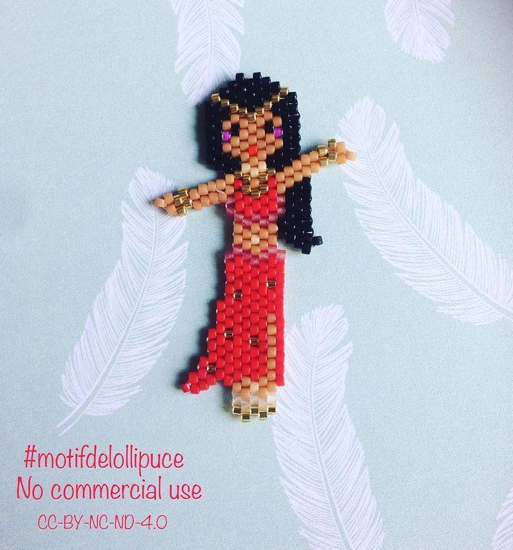 """120 Likes, 15 Comments - Colleen L. (@lollipuce) on Instagram: """"Je vous montre ma petite danseuse orientale crée juste pour mon amie @nadia25etcie #miyuki…"""""""