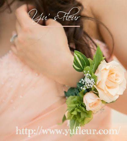 Yu's fleur (ユーズフルール)Wedding flower 港区ベイエリア flower Salon   リストブーケ