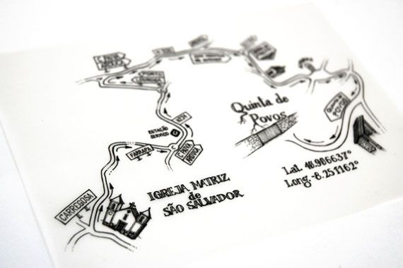 Hand Drawn Maps By Caramelo