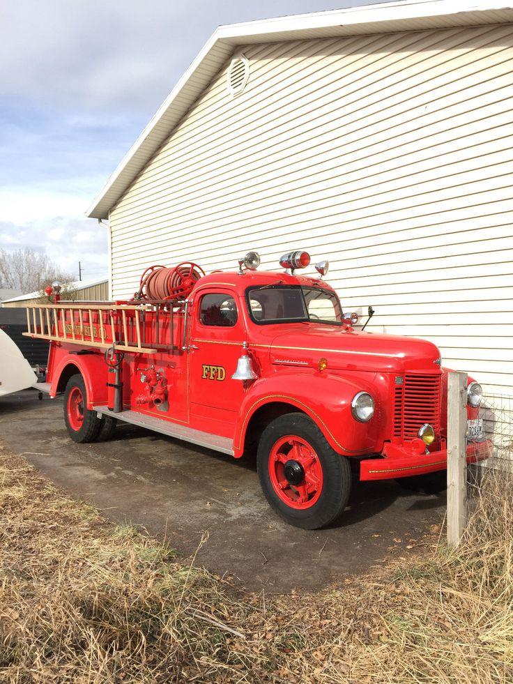Vintage 1942 International Fire Truck