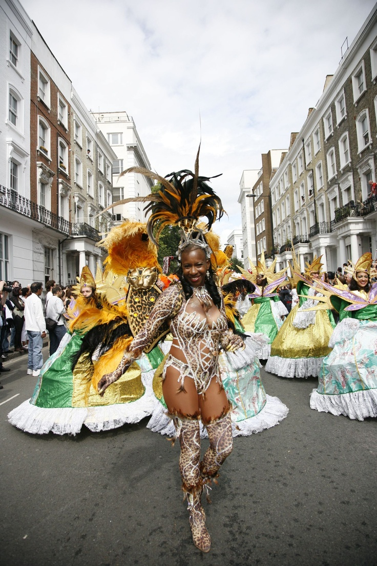 Dancing in the streets ! Yes please! Notting Hill Carnival, London