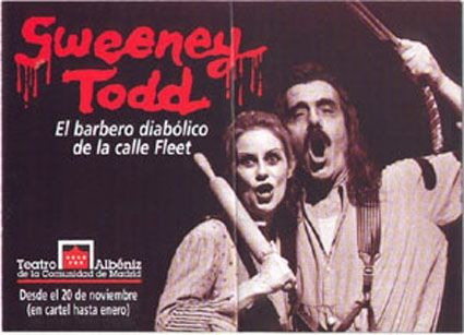 a literary analysis of sweeney todd by stephen sondheim Related: sweeney todd: the demon barber of fleet street  is an adaptation of  stephen sondheim's blood-thirsting musical of the same name  revenge, the  central theme of sweeney todd, is not only apparent in its titular.