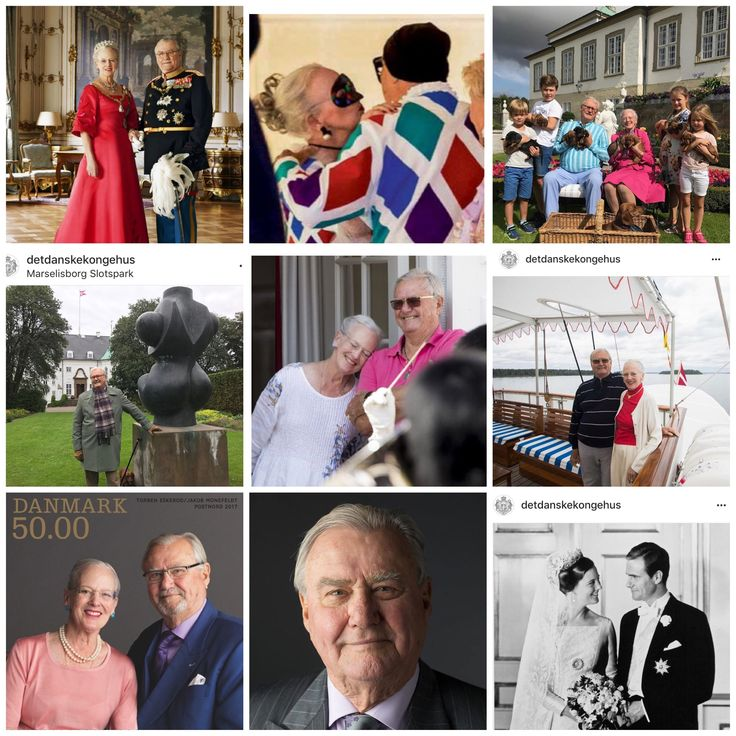 Queen Margrethe and Prince Henrik 2017