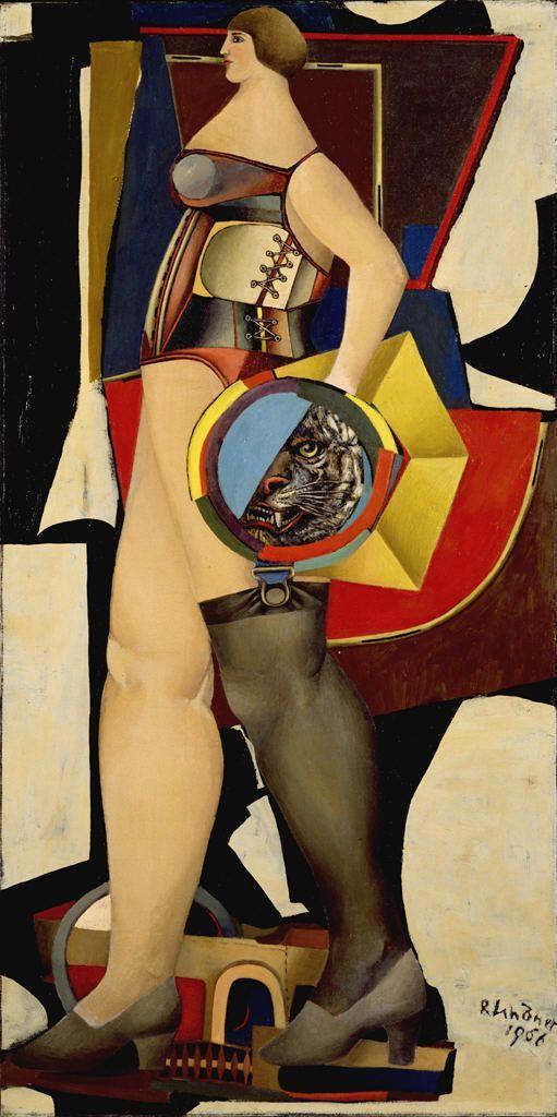 Circus Woman, 1956 // by Richard Lindner (1901-1978), Hirshhorn Museum and Sculpture Garden, Washington DC