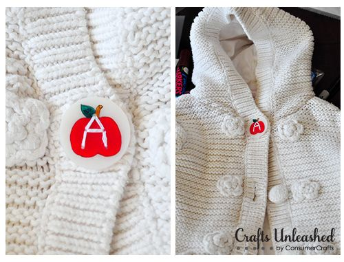 Cool idea -- use shrink plastic to make letter buttons for your kid's clothing. How? Find out at Crafts Unleashed.