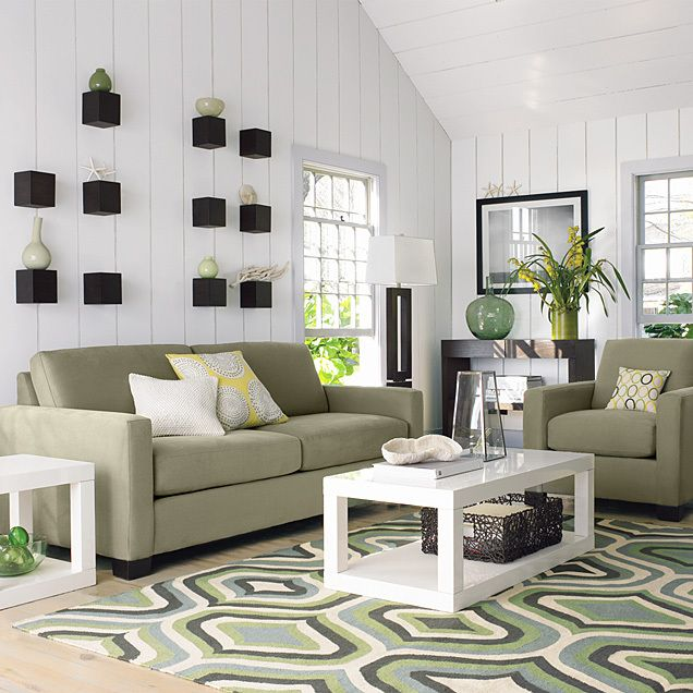 love this look so fresh and clean  I can feel the summer breeze through the windows.
