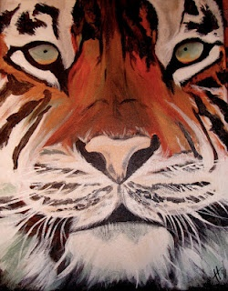 Tiger Painting by Shotviatheink
