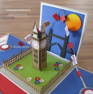 Überraschungsbox Explosionsbox Gutschein Städtereise London                                                                                                                                                                                 Mehr