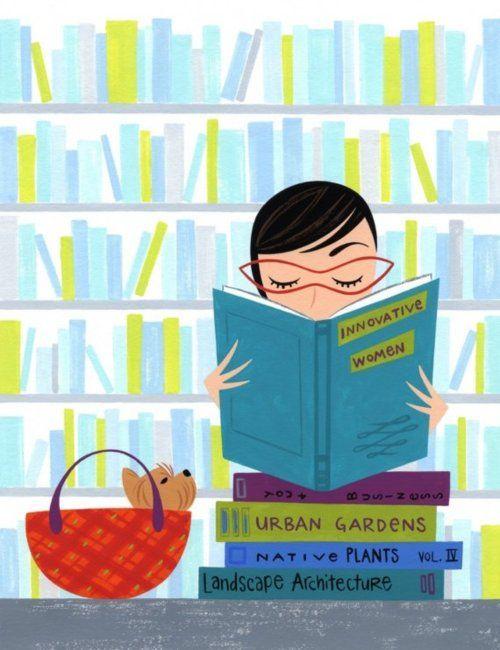 Innovative women read! Aline♥