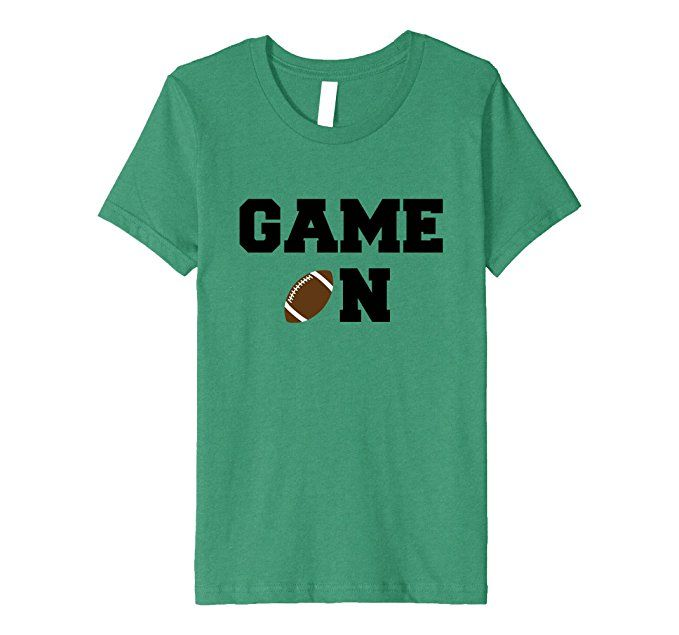 Amazon.com: Game On Sunday Football Game Day Touchdown College Pro Shirt: Clothing
