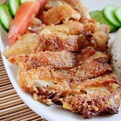 Air-Fried Chicken Chop, for the recipe go to http://eatingpleasure.blogspot.com.au/2011/06/air-fried-chicken-chop-air-fryer-recipe.html