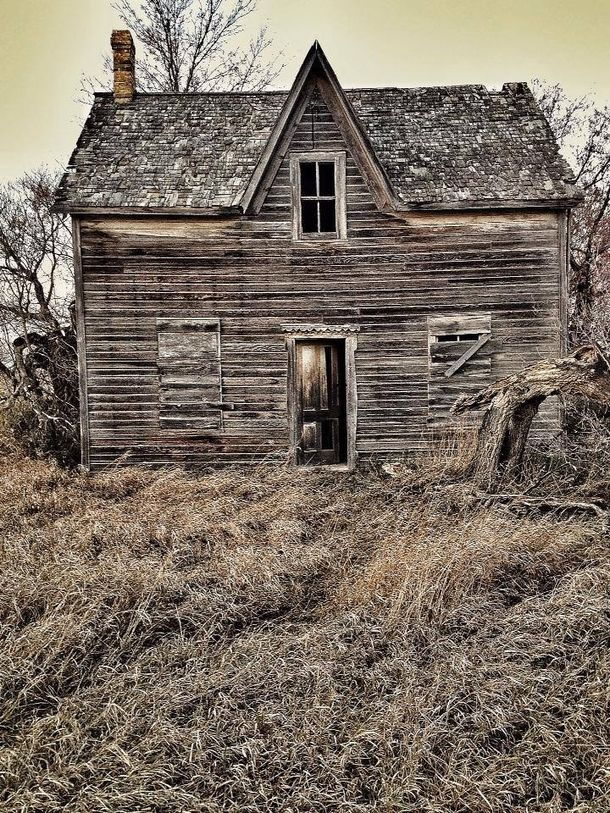 Another farmhouse outside of Brandon Manitoba