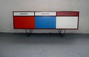 Beautiful Upcycled SIDEBOARD / Cabinet *** Teak Rosewood Danish Vintage Retro