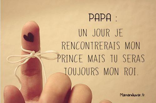 Que le papa d'une petite fille vienne oser nous dire que ça ne le touche pas !! #fetedesperes