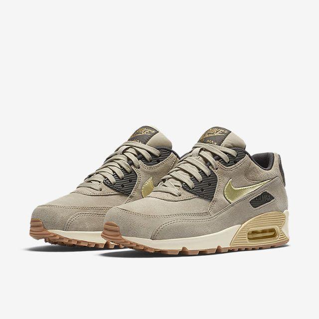 Nike Air Max 90 Premium Suede Women's Shoe.