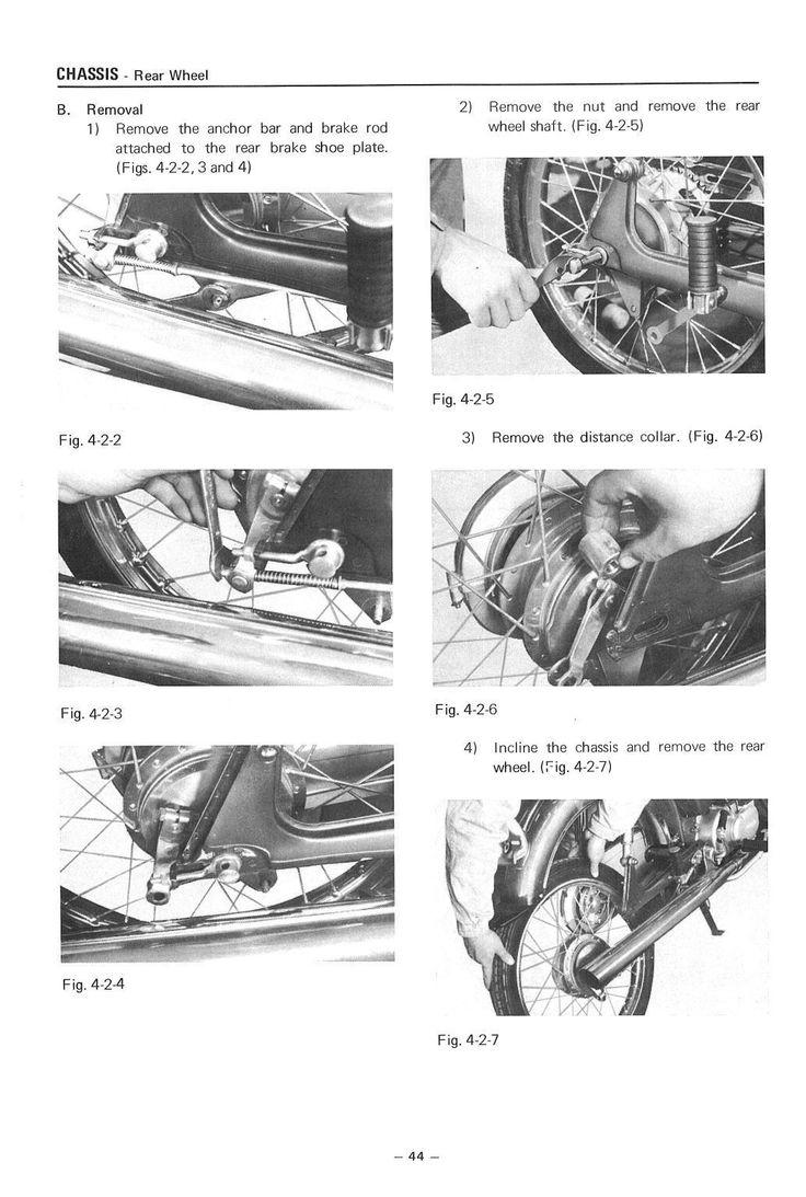 Yamaha Workshop Manual F5 FS1 J5 G5G 1969 1970 1971 1972