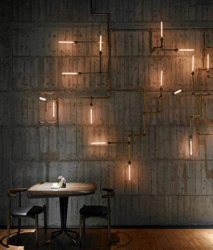 More cool lights......
