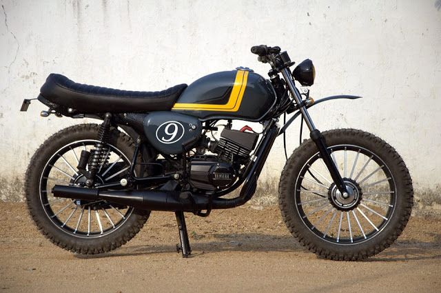 Eimor Customs Chaser Modified Yamaha Rx100 Price And Specs