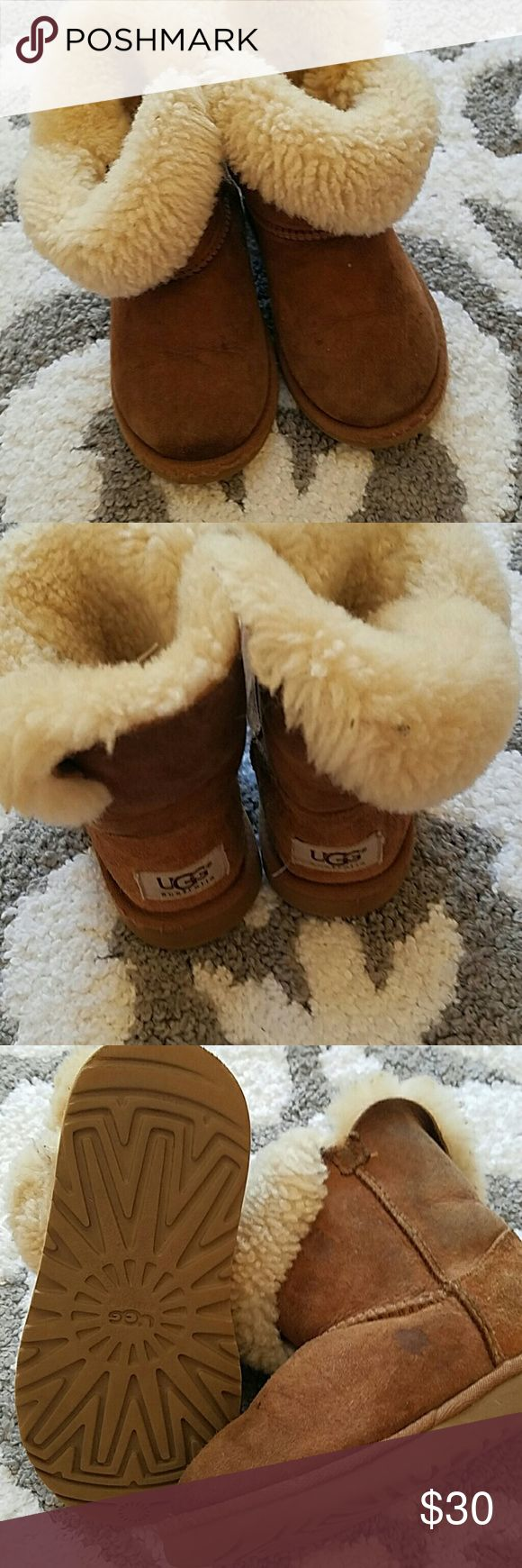 Kids Ugg boots Size 12 Ugg Boots worn but will clean up nicley UGG Shoes Boots