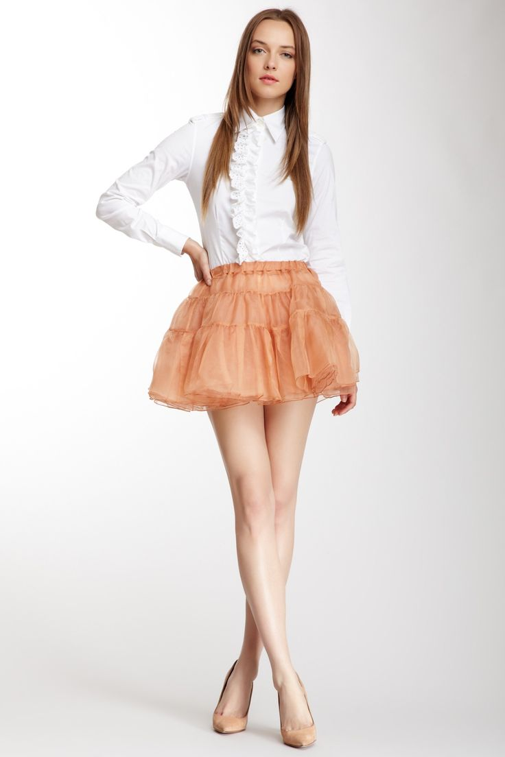 Flared Skirt Outfits