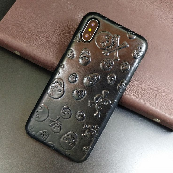 Hot offer solque real genuine leather case for iphone x 10
