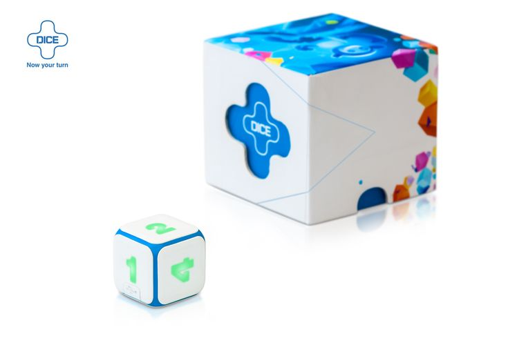 DICE+ first electronic dice in the world. The fate of the game is   in your hands again!
