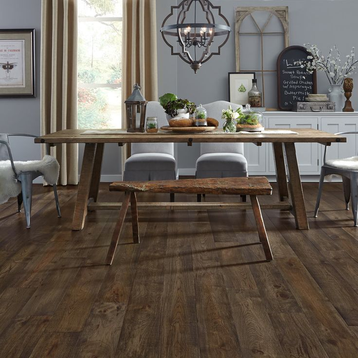 22 Best Images About Mannington Dining Rooms On Pinterest Plank Flooring Teak And Montana