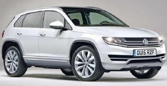 2016 VW Tiguan tdi top view