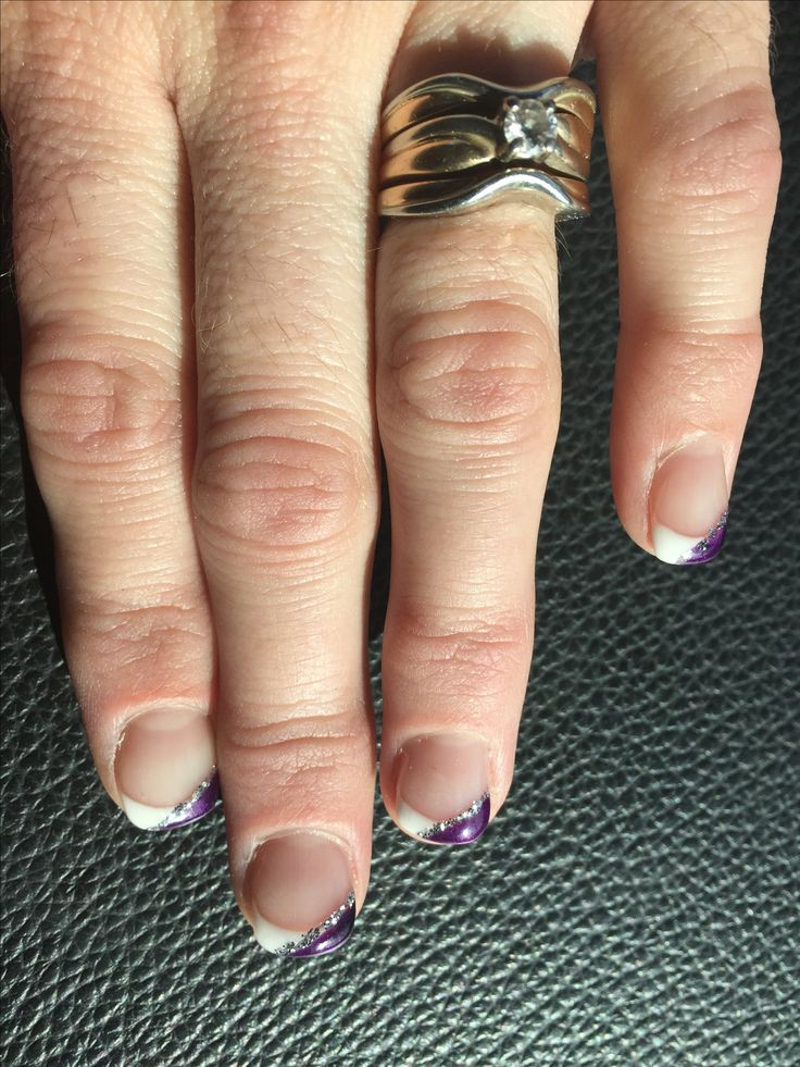 Amethyst Wedding nails!! For my brother and sister in law's gorgeous Vegas wedding!! Done by Melissa at Essential Balance in Quesnel, BC